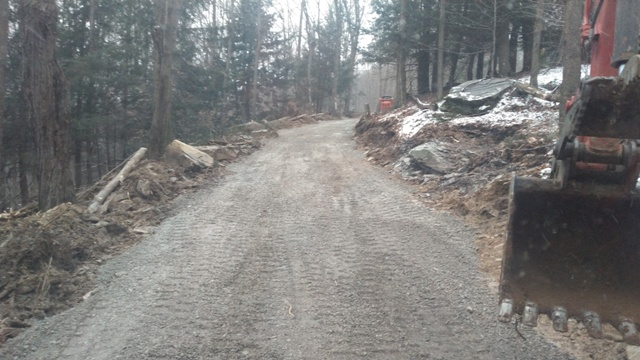 New Gravel Driveway Installation