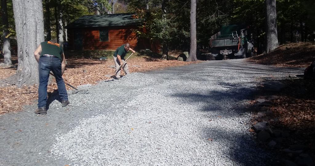 Gravel Driveway Resurfacing