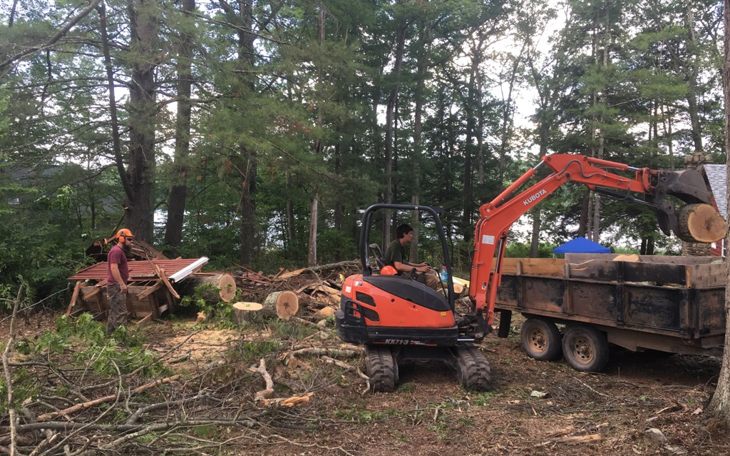 Storm Damaged Tree Removal, by Apple Creek Landscaping - Pike County PA