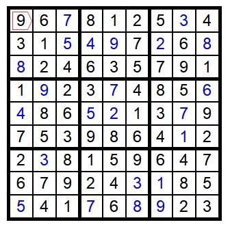 Sudoku - LWF Week 12 Puzzle